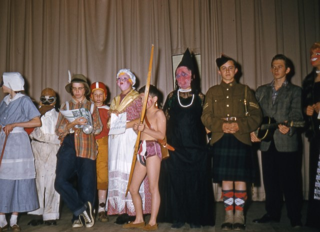 1950s School Halloween Party