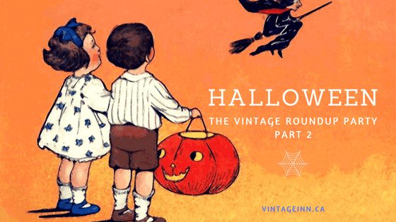 Halloween the vintage roundup by the vintage inn blog