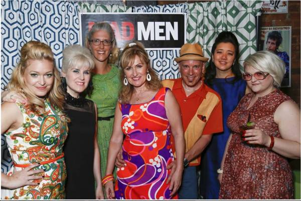 Toronto Vintage Society Mad Men Finale Party 2015