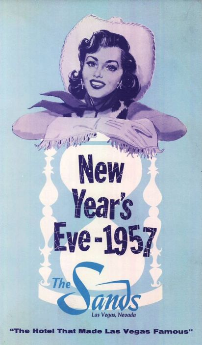 1950s new years eve the sands las vegas ad