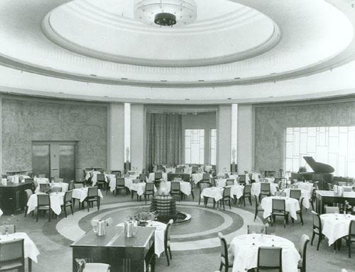 Eatons Round Room Vintage Photo 1930s