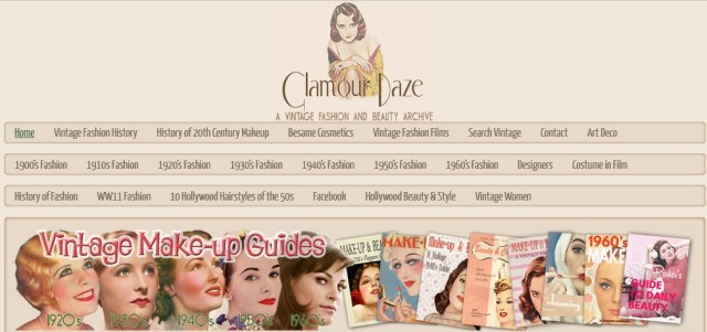 glamourdaze website