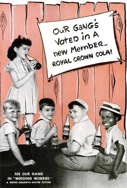 little rascals rc cola vintage ad 1940s