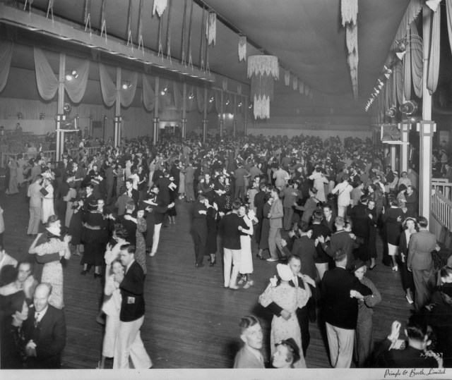 1930's social dance at the Transportation Building, Toronto Canadian National Exhibition
