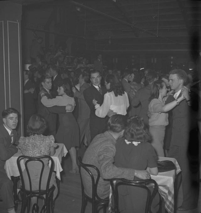 1940's toronto dance hall vintage image