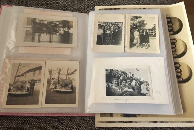 vintage photo album from the Vintage Inn Blog