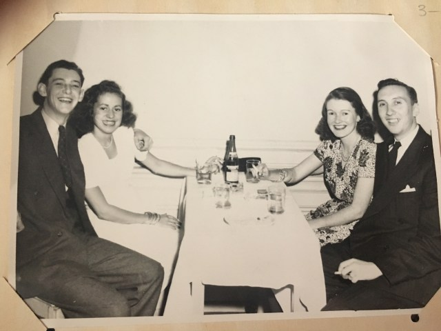 Date night 1940's photo taken at King Edward Hotel Toronto