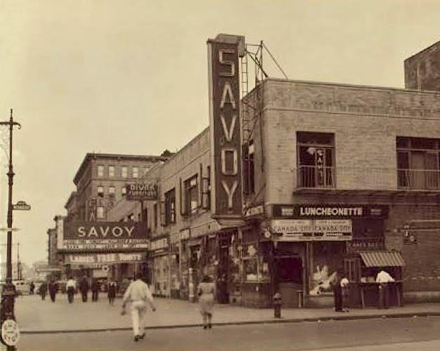 Savoy ballroom Harlem outside