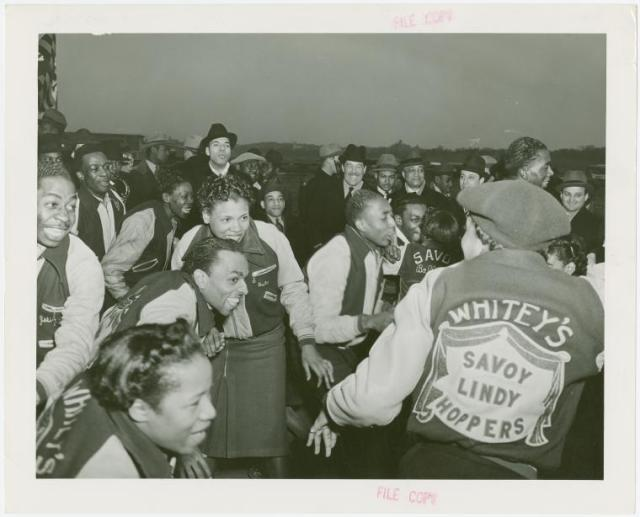 Whitey's Lindy Hoppers jackets nyc vintage image