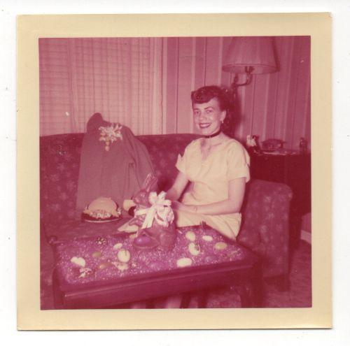 1950s vintage easter image