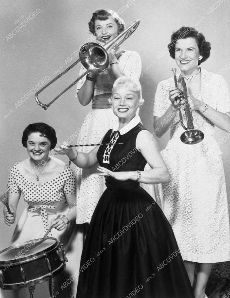 Ina Ray Hutton 1950s with band for tv show