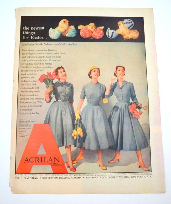 Vintage Easter Dresses Ad