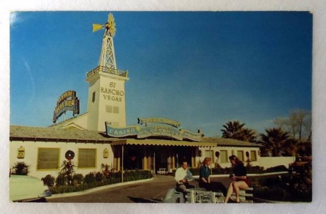 Postcard-El-Rancho-Vegas-Hotel-Casino-Restaurant-Las