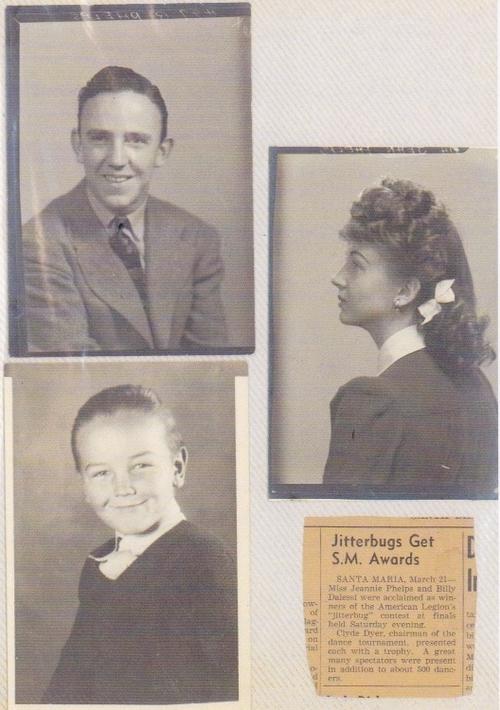 Jean Veloz 1940s Jitterbug