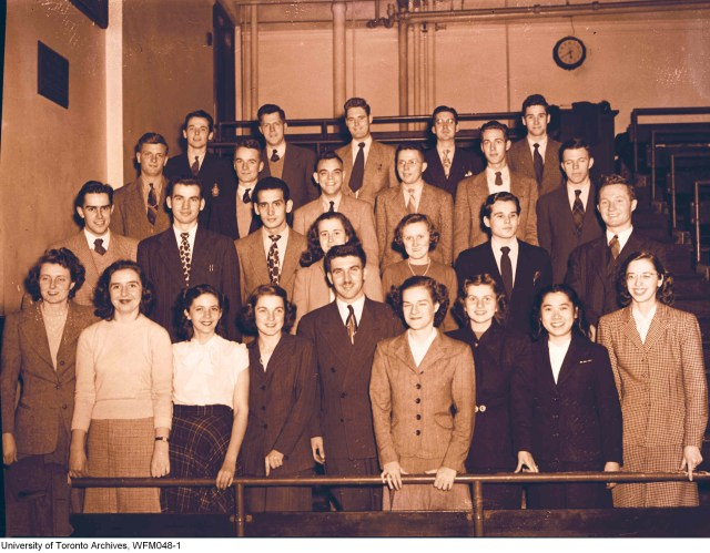 University of Toronto Medical Glee Club, 1948.
