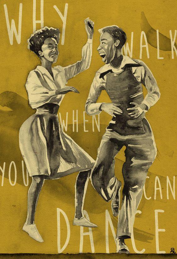 vintage lindy hop image