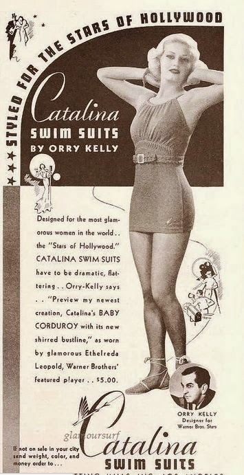 Catalina swimsuits by orry kelly vintage ad