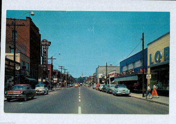 Sarnia Ontario Postcard 1960