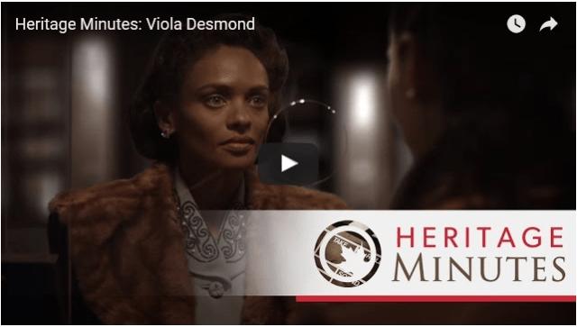 Viola Desmond Heritage Minute