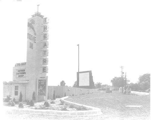 Comet Drive In Theatre 1949