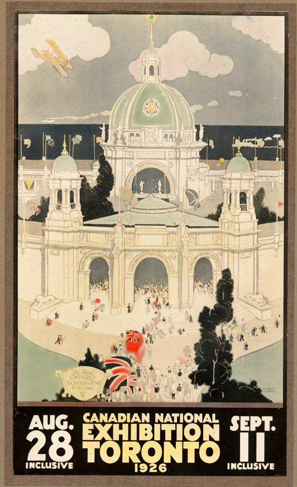 1926 Vintage CNE Poster