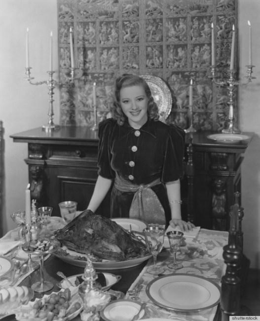 1940s Thanksgiving