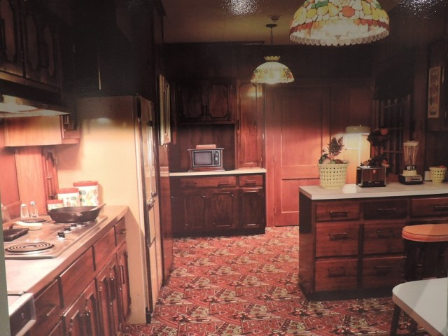 Elvis Presley kitchen 1970s