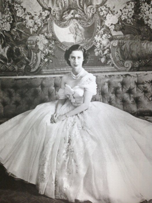 Princess Margaret in Dior 1950s