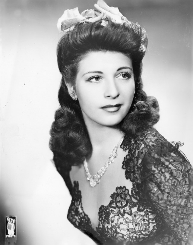 Bea Wain Big Band Singer Vintage Photo