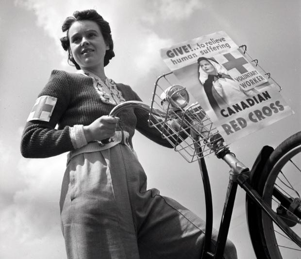 The Halifax, Nova Scotia Women Volunteers Of WW2