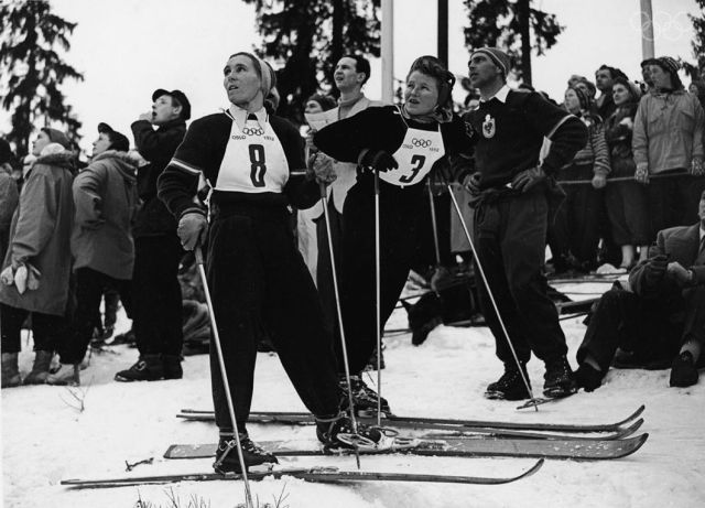 1952 Winter Olympics women's slalom
