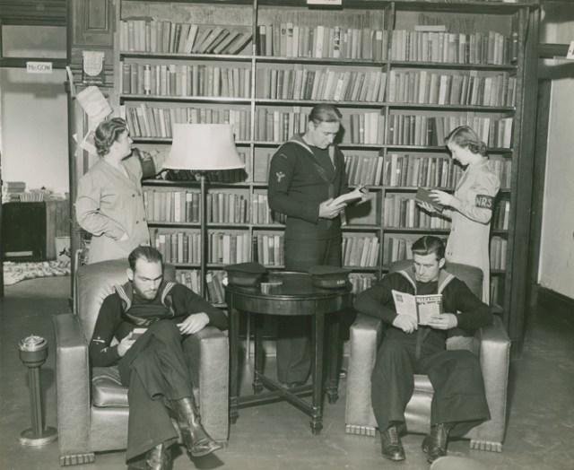 Halifax naval reading service 1942