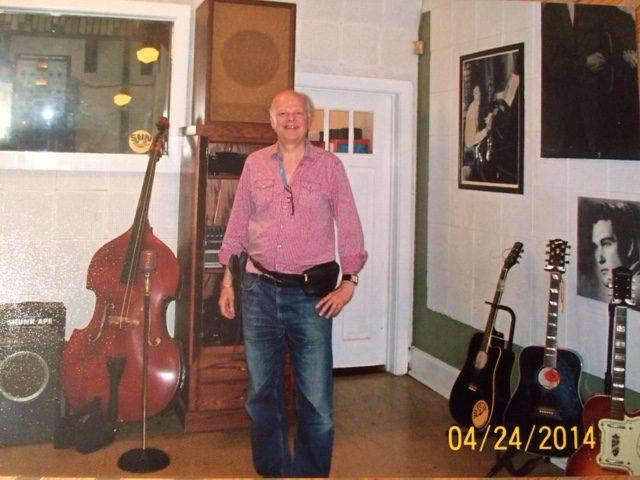 Gene Stevens Zoomer Radio inside Sun Records