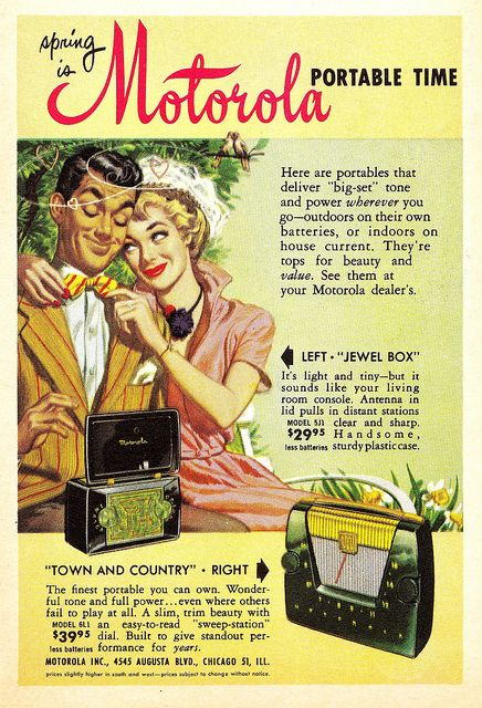 """Coronet"" magazine ad June 1950"