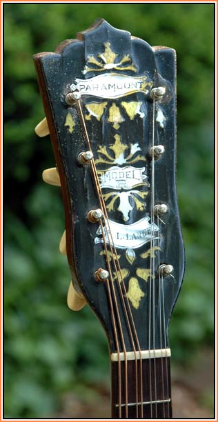 Paramount Model R Mandolin Banjo Harp