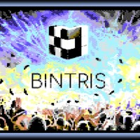 BINTRIS for Commodore 64, Binary Themed Tetris