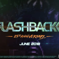 Flashback 25th Anniversary now available for Nintendo Switch!
