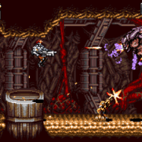 Blazing Chrome: a new, retro-themed run 'n gun shooter!