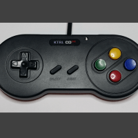 KTRL CD32 gamepad for the Amiga CD32 goes wireless