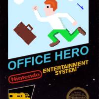 Play the new NES Homebrew game 'Office Hero' and win prizes!