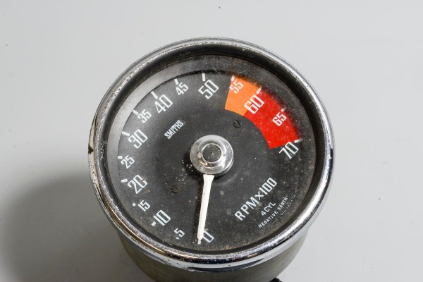 Smiths RVI 1433/00 - 3 1/2 in. Tachometer