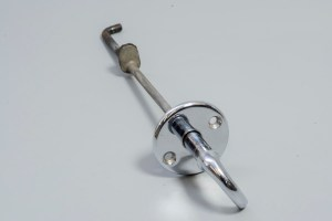 Jaguar BD19903(1) - Bonnet Release for Locking Hook Handle, Escutcheon & Rod