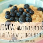 Quinoa: Ancient Superfood + 15 Quinoa Recipes