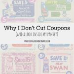 Why I Don't Cut Coupons + A Peek Inside My Pantry