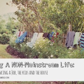 Living A Non-Mainstream Life (While Balancing a Job, the Kids and the House) :: Vintage Kids | Modern World
