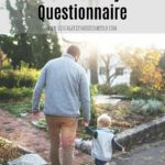 A Father's Day Questionnaire (a great keepsake for dad!)