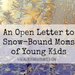 An Open Letter to Snow-Bound Moms of Young Kids