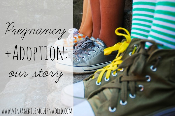 Pregnancy + Adoption: Our Story :: Vintage Kids | Modern World
