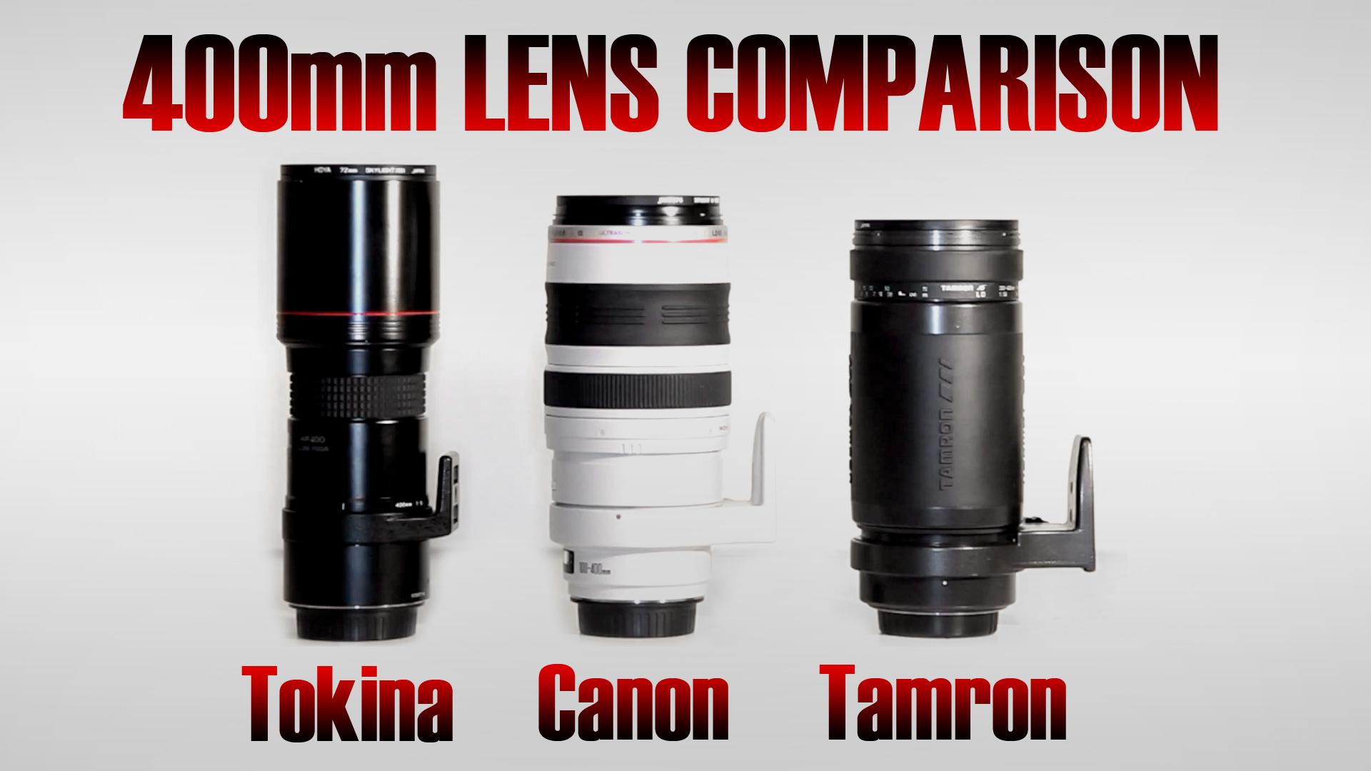 400mm Comparison | Part 1 | Canon 100-400mm L Alternatives