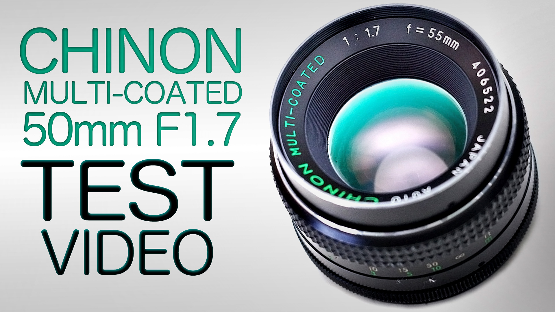 CHINON MULTI-COATED 55MM F/1.7 REVIEW + TEST